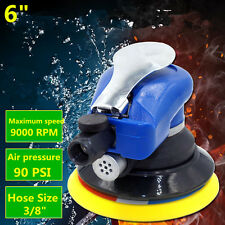 "6"" Air Random Orbital Palm Sander Auto Body Orbit DA Sanding Swirl-Free Finish"