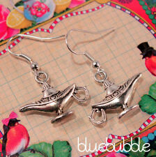 Hook Tibetan Silver Costume Earrings