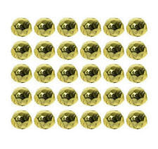 100 GOLD FOIL CHOCOLATE DIAMONDS - WEDDING PARTIES FAVOURS CANDY BUFFET