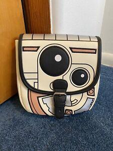 Star Wars BB-8 Droid Pastel Saddle Crossbody Bag Purse