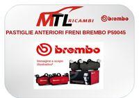 PASTIGLIE ANTERIORI FRENI BREMBO P59045 OPEL CORSA