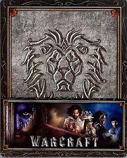 Warcraft: The Beginning Limited Edition SteelBook w/Alliance 1/4 SlipCover Korea