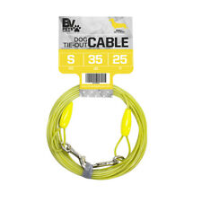 Bv Pet Tie-Out Cable for Small Dogs Up To 35 lbs 25 Ft