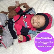 """Reborn doll kit  Baby Tracy  21"""" vinyl  unpainted parts only w FREE GIFT"""