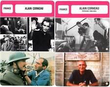 FICHE CINEMA x2 : ALAIN CORNEAU  -  France (Biographie/Filmographie)