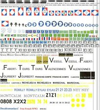 1/72 Decals, Decalcomaniacs, Free French Markings