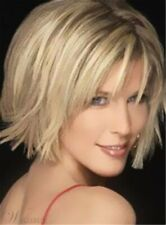 2020 Gracefully Short Afro Straight Dark Blond Women's Synthetic Hair Wig