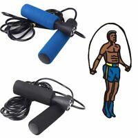 réglable sports d'aérobie fitness sauter string la corde à sauter sponge gérer