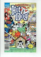 Hot Dog #1 Canadian Newsstand Price Variant Jughead's Pal 1990 High Grade Rare