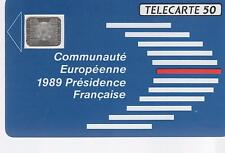 F 107 B - COMMUNAUTE EUROPEENNE - 50 ut - 11.89 - SC5an