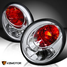 For VW 98-05 Beetle Clear Rear Tail Lights Brake Lamps Replacement LH RH