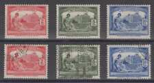 ARGENTINA 1930 REVENUES SOCIAL WELFARE TWO FULL SETS 2cents-10 cents MINT & USED