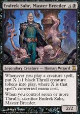 Magic MTG - Endrek Sahr, Master Breeder Time Spiral Rare Black Creature + BONUS