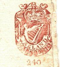 GB IRELAND Revenue Stamp 1776 NEWSPAPER *Freeman's Journal* {samwells-covers}F62