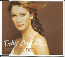 DELTA GOODREM Not me Not I w/ UNRELEASED 2TRX Europe CD single SEALED USA seller