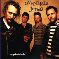 OVERNIGHT JONES ~ My Private Train ~ CD Album ~ Like New ~ FREE POST!