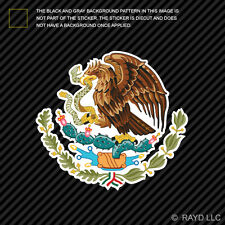 Mexican Coat of Arms Sticker Decal Self Adhesive Vinyl Mexico flag MEX MX