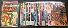 Lot of 25 Assorted Flash, Superman, Jla & Ka-Zar Comics in Mylar w Free Shipping