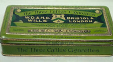 The Three Castles WD & HO Wills Tobacco Cigarettes Vintage Advertising Tin