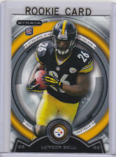 Le'Veon Bell PITTSBURGH STEELER ROOKIE CARD 2013 Topps Strata Leveon FOOTBALL RC