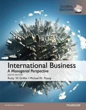 International Business, Global Edition by Ricky W. Griffin, Michael Pustay (Paperback, 2014)