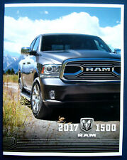 Prospectus brochure 2017 Dodge Ram 1500 Pickup (USA)