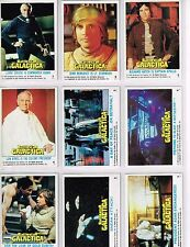 Battlestar Galactica - Complete Trading Card Set (132) - Topps 1978 - EX/NM