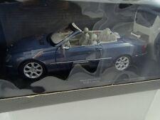 1:18 Kyosho Dealermodel Mercedes - Benz CLK Cabrio Azul #B66962173 Rareza§