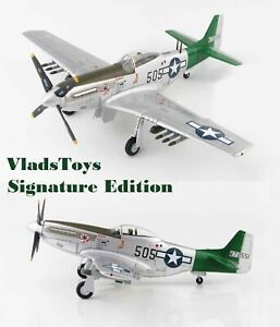 Hobby Master 1:48  P-51D Mustang 506th Capt Abner Aust Signature Edition HA7743A