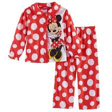 da9abe797 Disney Minnie Mouse Long Sleeve Girls  Sleepwear (Sizes 4   Up)
