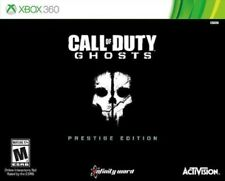 XBOX 360 CALL OF DUTY GHOSTS: PRESTIGE EDITION BOX SET SEALED FREE SHIPPING!