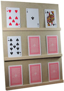 PLAY YOUR CARDS RIGHT/HIGHER LOWER GAME WITH STAND (UK MADE)