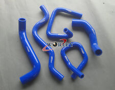 High performance Ford Falcon BA BF XR6 Turbo Silicone Radiator Hose Kit Blue