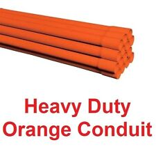 Electric Orange Hd 40mm Heavy Duty Underground Cable Conduit Duct Wholesale