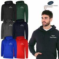 UNEEK UX4 Embroidered High Quality Hoodie Sweat + FREE PERSONALISED CUSTOM TEXT