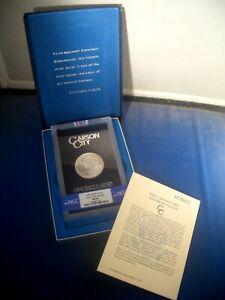 """1884-CC """"18/18 - VAM-2 """" GSA """" NGC MS64 * Silver MORGAN Dollar $1 * BOX & COA !!"""