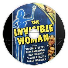 The Invisible Woman (1940) Comedy, Romance, Sci-Fi Movie / Film on DVD