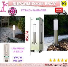 Palo da giardino lampada giardino lampada-acciaio inossidabile Illuminazione led