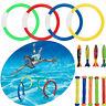 Diving Ring Sticks Swimming Pool Underwater Play Toys Kids Dive Torpedo Rocket