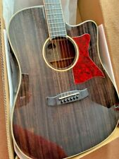More details for electric, electro acoustic dreadnought guitar, solid wood spruce top rrp £399.00
