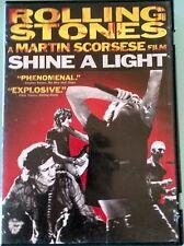 Rolling Stones a Martin Scorsese film shine a light ,Dvd