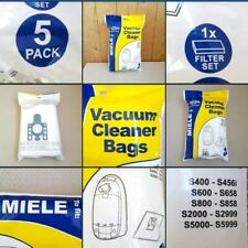 *New* Vacuum Cleaner Bags 5 Pack ▪MIELE▪ S400~S456i~ Hoover Bags~Plus Filter Set