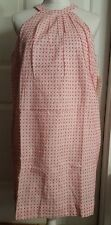 New Womens Isani White & Coral Red Embroidered Sleeveless Tank Dress XS X-Small