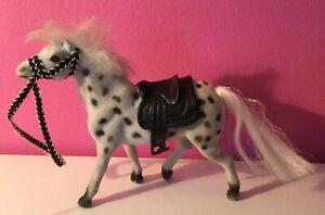 Vintage Play Ponies Job Lot 4 Ponies Unbranded Approx 1990s