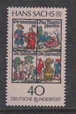 WEST GERMANY MNH STAMP DEUTSCHE BUNDESPOST 1976 HANS SACHS  SG 1770