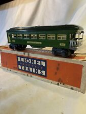1938 LIONEL  2641  Observation Car Tinplate CAR 027 Model Train Prewar & Box