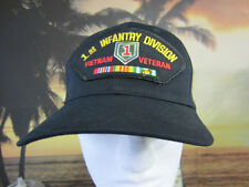 1st Infantry Div. Iraqi Freedom Veteran  Awesome black baseball cap, Embroidery,