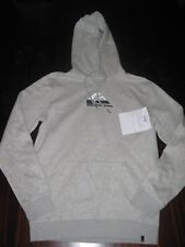 Quiksilver Mens Hooded Jumper Grey Size M - Brand New!!!