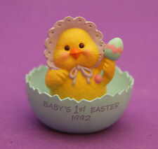 Hallmark Merry Miniatures Easter 1992 Baby's First Easter Chick