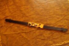 TED Baker cinturino in pelle con fold over chiusura in oro 6 mm